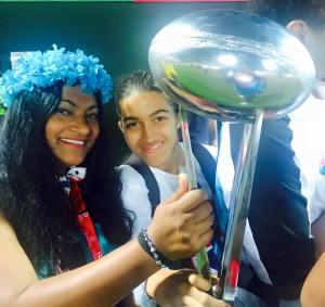Shereen Shabnam dubai rugby 7s